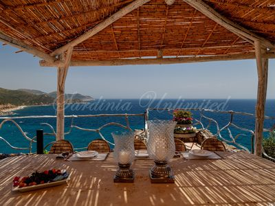 Photo for Villa rental directly on the sea south Sardinia