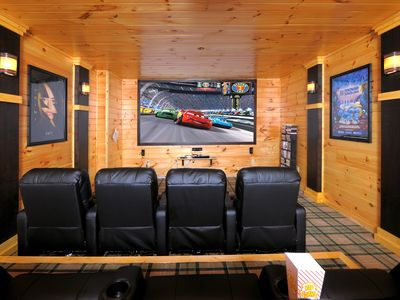 Photo for Fun for Everyone!-Huge Theater Room/Hot Tub/Basketball/Pool/Arcade Game/Private
