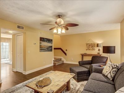 This newly furnished 3 bedroom 2.5 bath townhouse condo sits just 2 blocks away from the beautiful Atlantic Ocean. Enjoy the community pool and tennis courts during your stay.