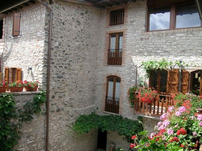Photo for Tastefully furnished apartments in natural stone rustico