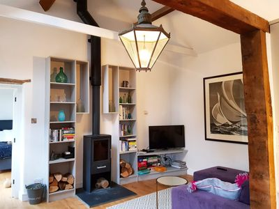 Photo for Cotswolds Getaway Cottage with boutque hotel luxury standards and dog friendly.