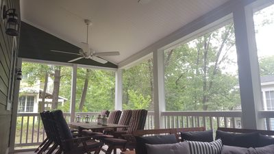 Screened Porch Dining