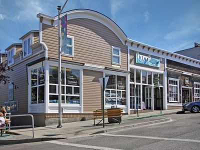 Photo for Harbor View Condo in the heart of Friday Harbor! - (Blue Water Suite)