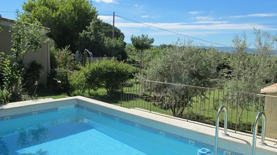 Photo for furnished accommodation loucardalines 3 *** (2 / 8prs), pool, pingpong free wifi