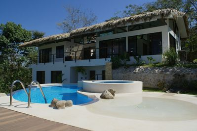 Casa Divina and our Salt Water Infinity Pool