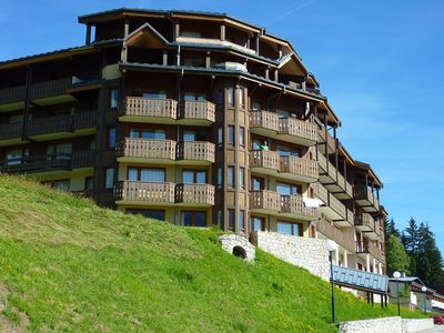 Photo for Back skier from the Grand Domaine de Valmorel quiet with a magnificent view