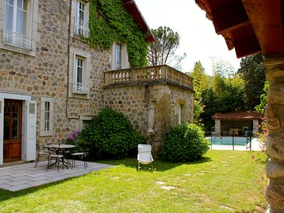 Photo for Family house in the heart of the Eyrieux valley