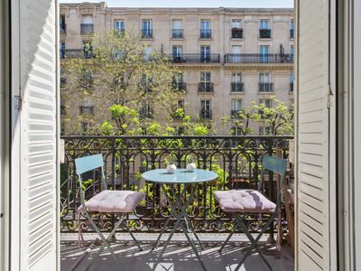 Photo for Typical Parisian flat with balcony - W454