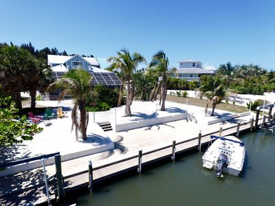 Photo for Boca Grande Area Home, Boat Docking and Heated Pool. Located in Cape Haze.