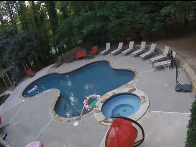 Photo for Beautiful 3600 SQ ft home with POOL & SPA. WE PROVIDE HAND SANITIZERS