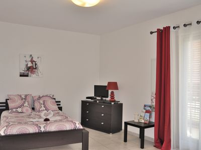Photo for Furnished studio, 3 stars, near beach and downtown, large balcony