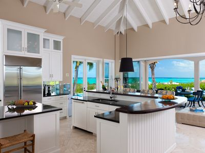 An Airy Oasis of Privacy with Panoramic Views of Grace Bay