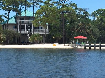 Photo for 'Sapelo' -  BayFront in Plantation, Private Dock & Beautiful White Sandy Beach