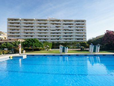 Photo for Luxury apartment with pool 100 meters from the beach of Carihuela