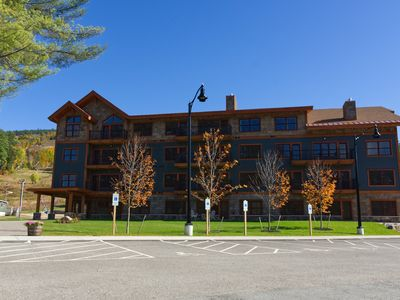 Photo for Ski In/Ski Out First Level Condo At Cranmore Mtn