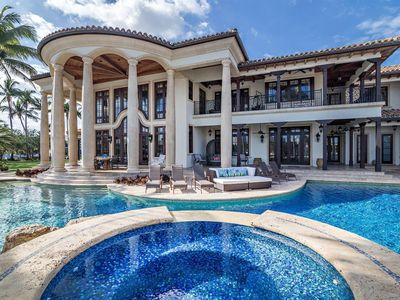 Photo for Beautiful one-acre mansion surrounded on 3 sides by stunning waters