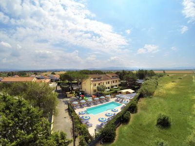 Photo for Marina di Cecina Apartment, Sleeps 6 with Pool and WiFi