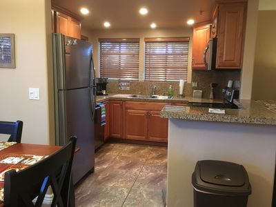 Fully stocked kitchen with all stainless steel new appliances