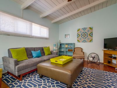 Photo for Quintessential Ocean Beach cottage just 1 block from the beach!