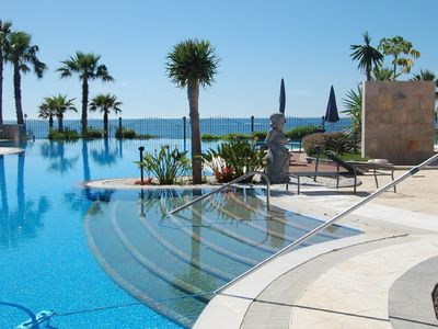 Photo for Luxurious seafront apartment in an exclusive resort  next to Kempinski Hotel
