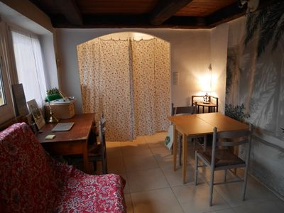 Photo for Charming studio with terrace historic heart of Vence