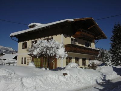 Photo for 3BR Apartment Vacation Rental in Abtenau