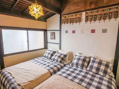 Photo for A lavish Japanese-style guest house 【On da Lab.】 Moon room