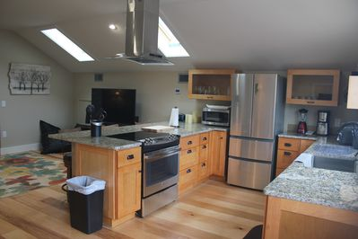 A kitchen that is ready for cooking!