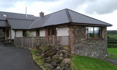 Photo for Vale Rowan - large house sleeps 10 on farm, indoor swimming pool, dogs welcome