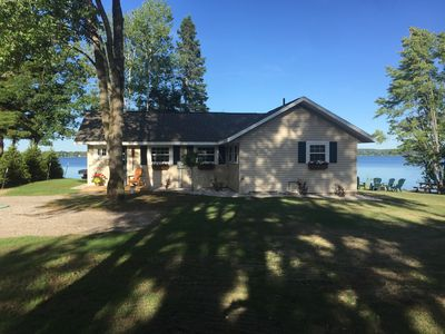 Photo for Lakefront Cottage On All-sports Green Lake-Interlochen-Traverse City/Sleeps 7