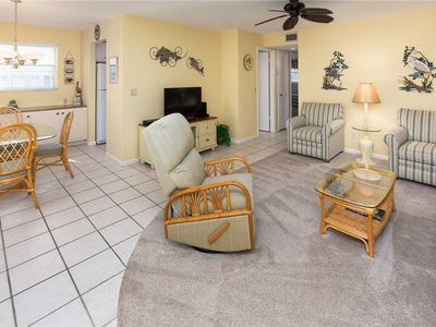 Photo for Unit K5: 2 BR / 2 BA partial gulf view in Sanibel, Sleeps 6