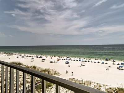 Photo for NEW-Oceanfront Gulf Shores Condo w/Community Pool!