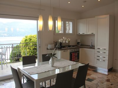 Photo for Holiday house Porto Valtravaglia for 1 - 4 persons with 2 bedrooms - Holiday home