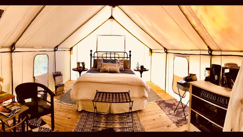 Smoky Mountain Glamping - Luxury Canvas Tent Camping in ...