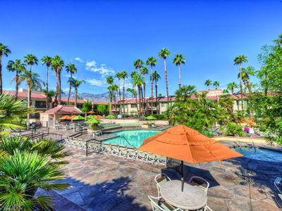 Photo for One Bedroom w/ Private Balcony, Resort WiFi & Full Kitchen Near Palm Springs