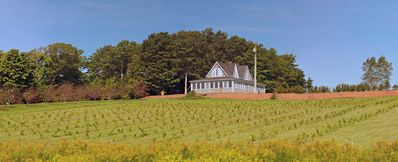 Photo for Large Century-old Home with Organic Vineyard. Very private with grand view.