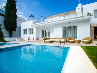 Photo for 7 bedrooms Villa Seafront XX in Puerto Banus