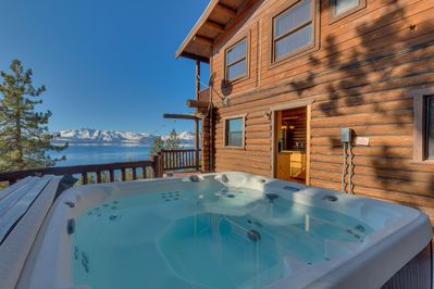 Hot tub with a view  - Hot tub with a view