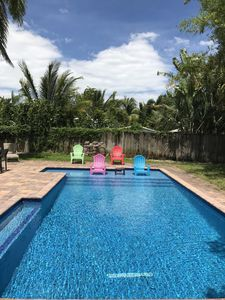 Photo for Sunny Pool House, Walk to Wilton Drive, Enjoy Fort Lauderdale Beach
