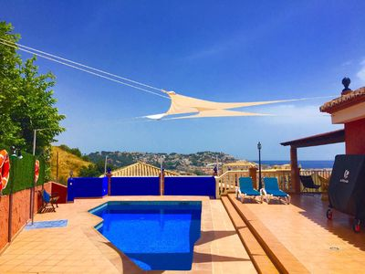 Photo for VILLA SERYMAR: sea views, swimming pool, private parking, games, home cinema, wi-fi