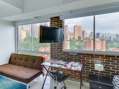 Photo for Sofisticado depto. con vista panoramica- Sophisticated Apt. with panoramic view