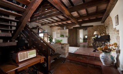 Photo for Farmhouse in Val d'Orcia with pool: apartments,cottage,and bed and breakfast