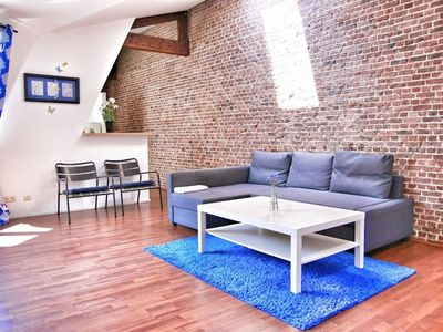 Photo for Antoine V apartment in Brussels Centre with WiFi & lift.