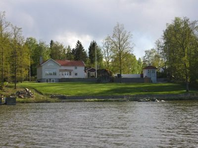 Photo for Large summer house directly by the Hjälmaren Sea