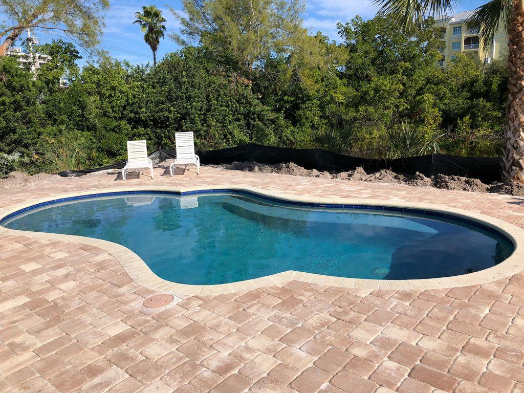 New Pool 3 Bedroom 2 Bathroom Beach House Siesta Key Florida Siesta Sun Villa Sarasota Florida