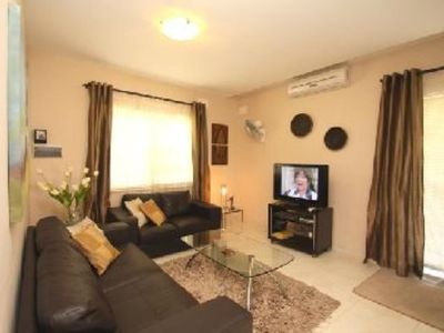 Photo for Comfort Class Licensed, Luxury 2 Bedroomed Penthouse with SpaciousTerrace and Aircondition