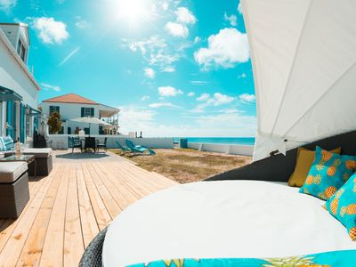Photo for Private 2 bedroom home on beach - Grand Turk Island in Turks and Caicos