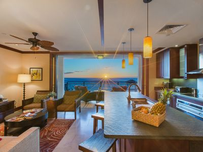 Photo for Sky High Penthouse Ko Olina Beach Villa with AMAZING ocean views!