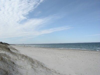 Photo for Quiet oceanview house at Sandy Neck in Barnstable. Trail walk to private beach.