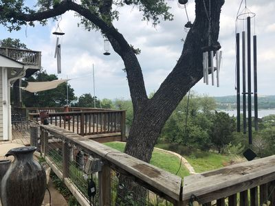 Photo for Romantic Getaway For 2 overlooking Lake Travis